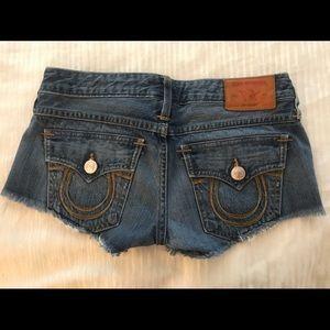 True Religion Denim Shorts
